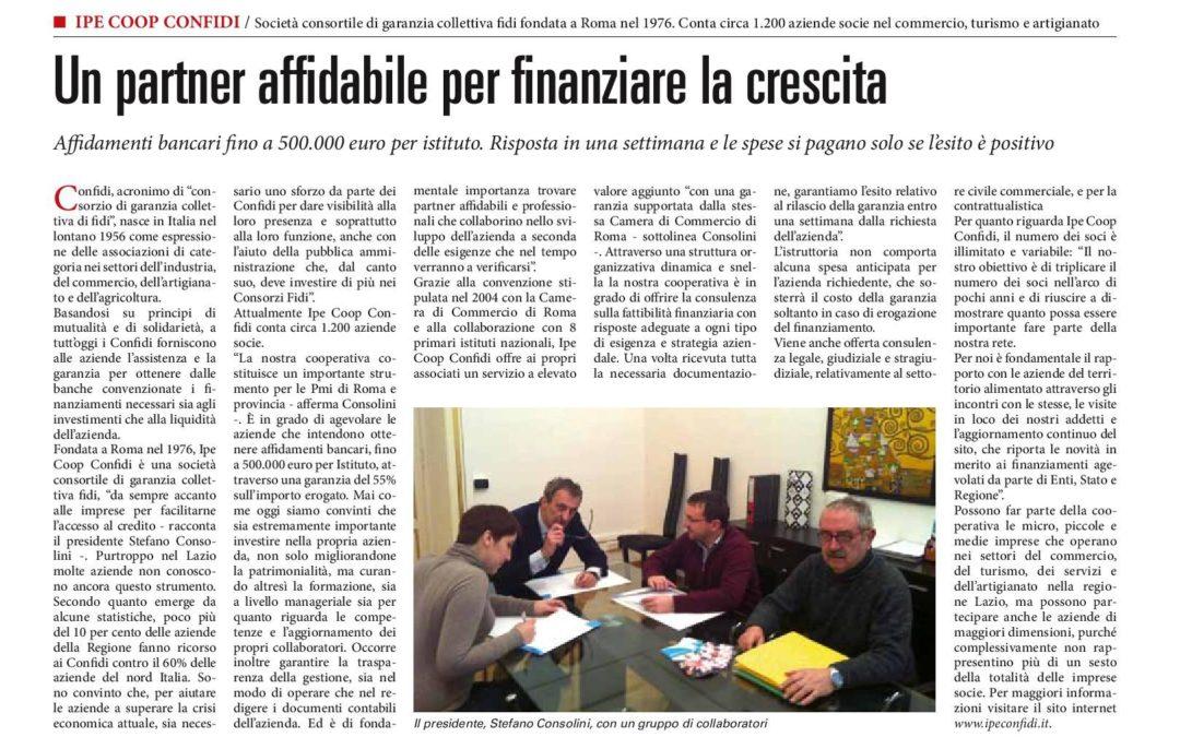 """ARTICOLO PUBBLICATO NELL'INSERTO """"EVENTI"""" DEL SOLE 24 ORE DEL 24 FEBBRAIO 2014"""